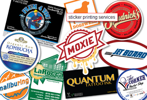 Sticker Printing in Singapore